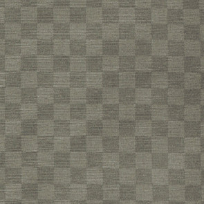 Picasso, ternet ensfarvet akryldug grå, 140 cm bred