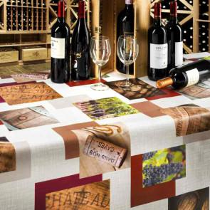 Vino Vingård, flot voksdug med motiver fra den italienske vingård
