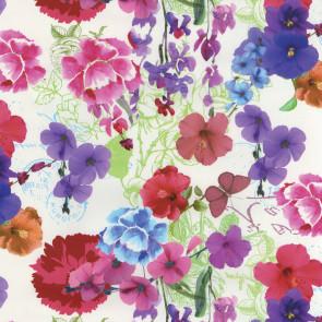 Alice Blomsterhave - voksdug med skønne blomster