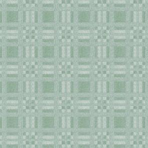 Voksdug - Damasktern Lys Støvet Grøn