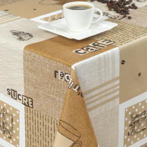 Kaffe - m/u sukker - Rund voksdug med elastik