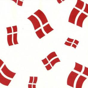 Voksdug til fødselsdag, med danske flag