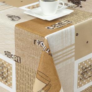 Voksdug - Kaffe - m/u sukker