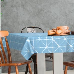Magrib Himmelblå  - LFGB, voksdug godkendt til kontakt med fødevare