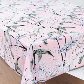 Mangrove Pink, voksdug med flotte og kunstfærdigt udformede blade