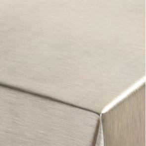 Metallic Platin guld - ensfarvet voksdug i metal look