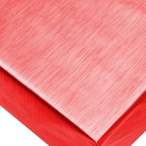 Metallic Rød - ensfarvet voksdug i metal look