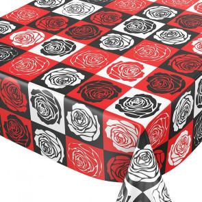 Warhols Roser, voksdug i amerikansk retro stil