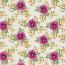 Klematis - Voksdug med blomster i blommefarvet, gyldnefarver